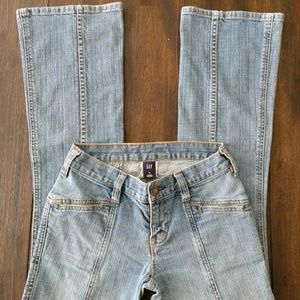Gap Vintage 90s Flare Denim Jeans Size 0